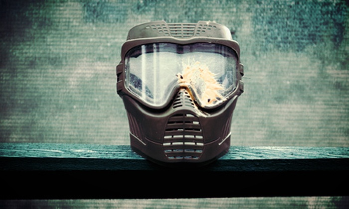Paintball Adventures - Littleton: $50 for an All-Day Saturday or Sunday Paintball Outing for Two with Gear at Paintball Adventures (Up to $110 value)