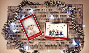 Pearl and Plum Photography: £16 for a Christmas Photoshoot with Ten Personalised Christmas cards at Pearl and Plum Photography