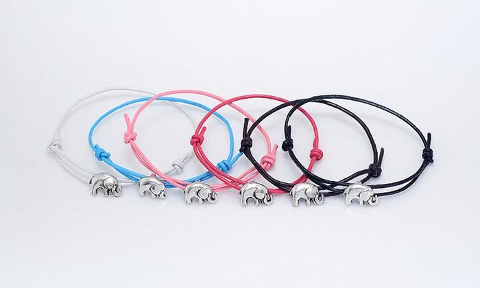 MonogramHub: $5 for a Lucky Elephant Bracelet from MonogramHub ($46.99 Value)