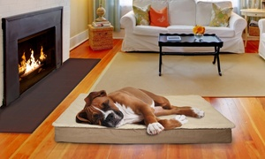 Suede Or Indoor/outdoor Sherpa Top Ortho Pet Bed From $16.99–$34.99