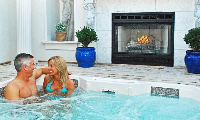 Oasis Hot Tub Gardens (Ann Arbor) - Bryant Pattengill East: One-Hour of Hot Tubbing at Oasis Hot Tub Gardens (Up to 48% Off). Three Options Available.