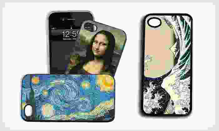 Fine-Art Silicone iPhone Cases: $10 for a Fine-Art Silicone Case for iPhone 4/4S or 5 (Up to $54.95 List Price). Free Returns.
