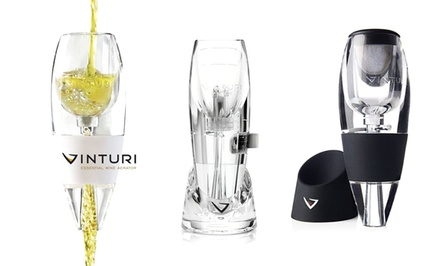 Vinturi Wine or Spirit Aerators. Multiple Styles from $19.99–$29.99.