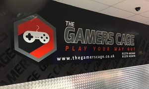 The Gamers Cage: Gamer's Birthday Party Package for Up to 12 or 16 Guests at The Gamers Cage (Up to 62% Off)