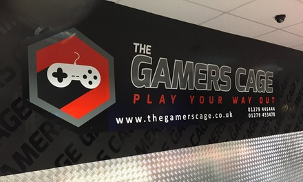 Gamer's Birthday Party Package for Up to 12 or 16 Guests at The Gamers Cage (Up to 62% Off)