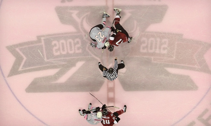 San Antonio Rampage - AT&T Center: San Antonio Rampage Pink in the Rink Hockey Game on Friday, February 1, at 7:30 p.m. at the AT&T Center (Up to 57% Off)