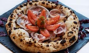 Noi Due Food Lab: Menu pizza a scelta più antipasti, dolce e birra al ristorante Noi Due Food Lab (sconto fino a 70%)