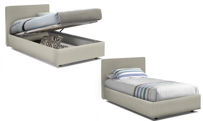 Letto con cassone Ninfea | Groupon Goods