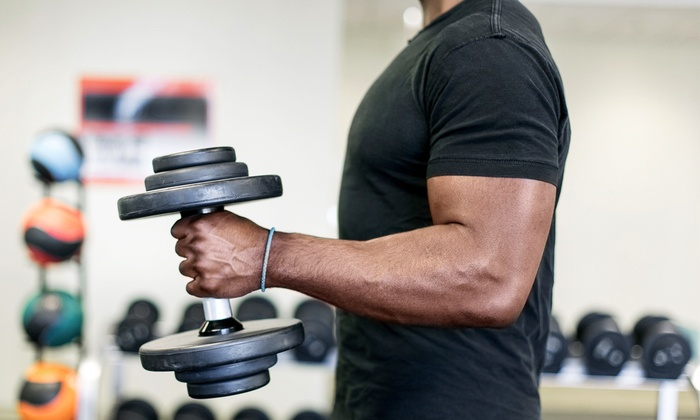 Fit! Health Club and Gym - Towson: Four Weeks of Gym Membership at The HIIT Room at Fit! Gym (74% Off)