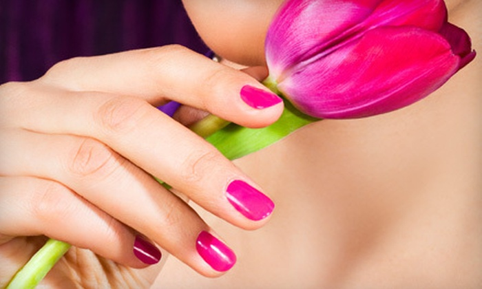 Charming Nail & Spa - Astoria: OPI Color Gel Manicure or Mani-Pedi at Charming Nail & Spa in Astoria (Up to 61% Off)