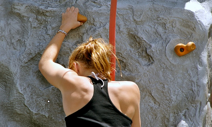 Kendall Cliffs - Boston: Rock-Climbing Package for Family of 6 or Package for 2 with Intro Lesson at Kendall Cliffs (Up to 76% Off)