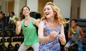 Partyology Fit Club: 5, 10, or 15 Dance-Fitness Classes at Partyology Fit Club (Up to 54% Off)
