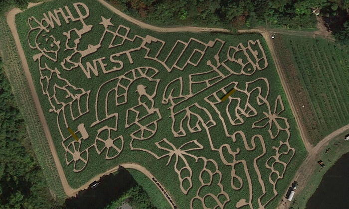 Connors Farm - Danvers: Four or Eight General Admissions to the Corn Maze and Additional Attractions at Connors Farm (Up to 53% Off)
