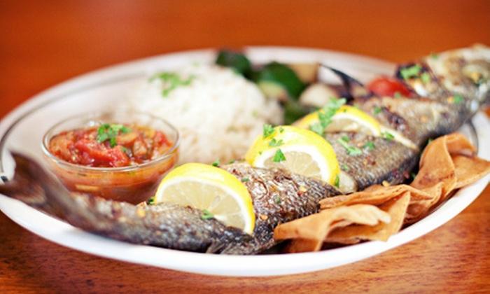 Lebanese Taverna Restaurant - Bethesda: Lebanese Cuisine at Lebanese Taverna Restaurant in Bethesda (Up to 47% Off). Two Options Available.