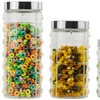 3- or 4-Piece Glass Canister Set