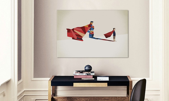 Geek Wall Art geek out gallery wrapped canvas | groupon goods