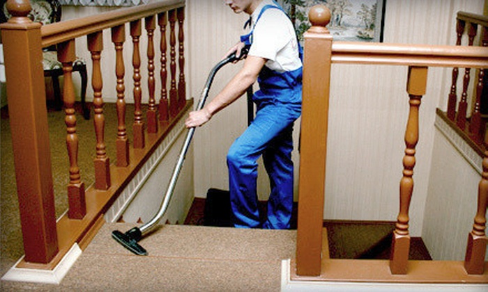 Great Guys Cleaning - Minneapolis / St Paul: $49 for Carpet Cleaning for Three Rooms from Great Guys Cleaning ($120 Value)