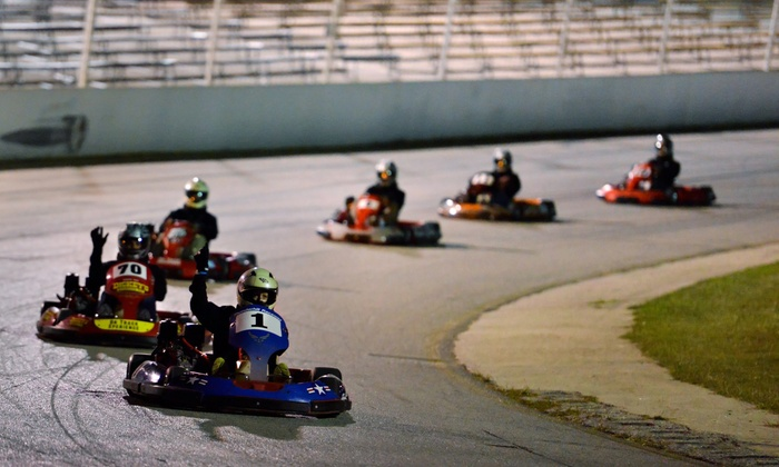 Central Texas Speedway - Central Texas Speedway: Three Prokart Races for Two, Four, or Six at Central Texas Speedway (Up to 53% Off)