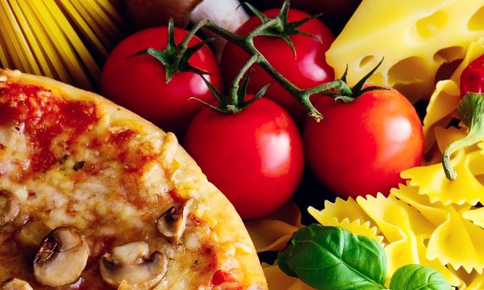 Mark Rich's NY Pizza & Pasta - Las Vegas: $6.99 for $14 Worth of Pizza and Italian Food at Mark Rich's NY Pizza & Pasta