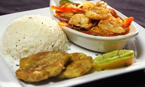 First Republic Lounge & Restaurant: Haitian Dinner for Two or Four at First Republic Lounge (Up to 52% Off)