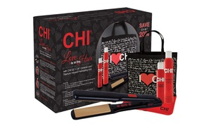 """Chi G2 1.25"""" Flat Iron With Free Hair Sprays And Bag"""