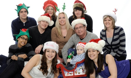 Christmas Portrait Packages two options available at The Photo Depot (76% Off)