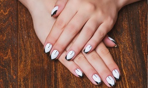Dalish's Nails & Beauty: Nail Art and Stamping with Paint from R80 with Optional Manicure and Touch-up at Dalish's Nails & Beauty (Up to 69% Off)