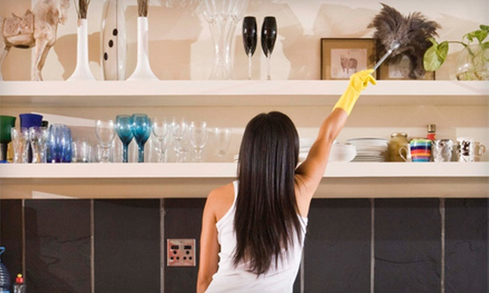Girls Go Green - Kansas City: Four or Two Hours of Housecleaning from Girls Go Green (Up to 51% Off)