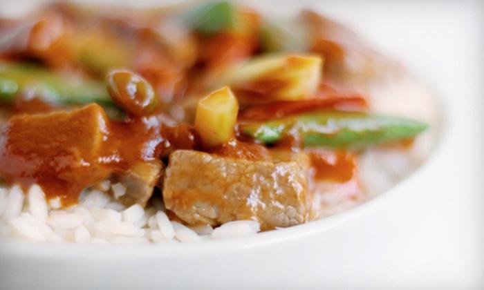 Bangkok Cuisine Express II - University: $5 for $10 Worth of Carryout Thai Fare at Bangkok Cuisine Express II