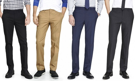 Men's Braveman Slim-Fit Dress Pants