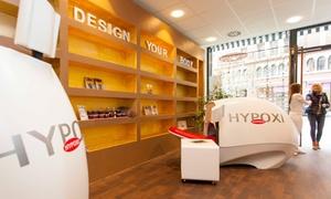 HYPOXI Studio Frankfurt: 1 oder 3 HYPOXI-Trainingseinheiten à 30 Minuten, optional mit Dermologie, im HYPOXI Studio Frankfurt