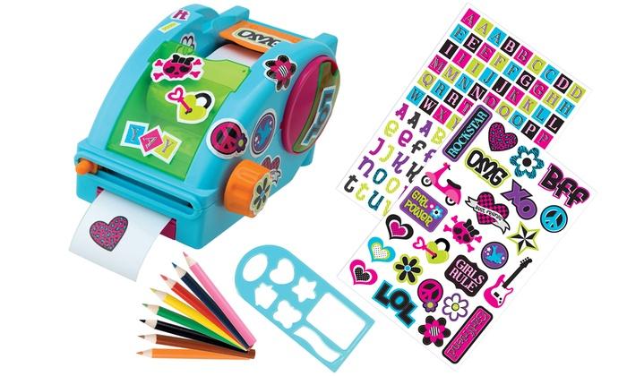 Alex toys sticker factory sticker maker or sticker maker refills alex toys sticker factory sticker