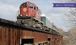 Arkansas & Missouri Railroad: Fort Smith to Winslow Train Excursion for Two or Four from Arkansas & Missouri Railroad (Up to 51% Off)