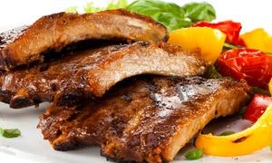 Arts 'n' Boards: Spareribs All-you-can-eat inkl. Salat und Beilagenbuffet für 2 oder 4 Gäste im Restaurant Arts 'n' Boards
