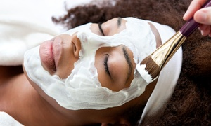 Unique Beauty by Stacia: One or Three 60-Minute Custom Facials at Unique Beauty by Stacia (Up to 55% Off)