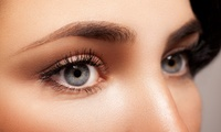 Silk Eyelash Extensions with Eyebrow Wax at Rumours Beauty Studio
