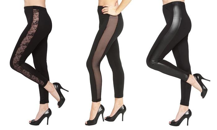 Isadora Women's Tuxedo Leggings