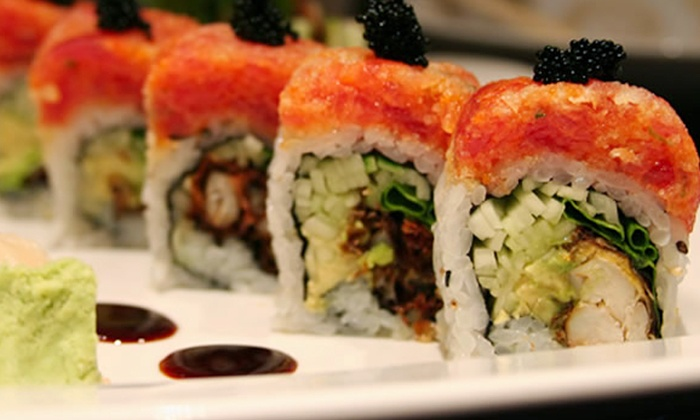 Kenji Hibachi and Sushi Bar - Short Pump: Sushi and Japanese Cuisine for Lunch or Dinner or Hibachi Dinner at Kenji Hibachi and Sushi Bar (50% Off)