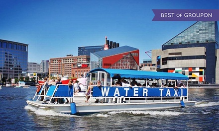 Frequent Floater Individual, Buddy, or Family Pass from Baltimore Water Taxi