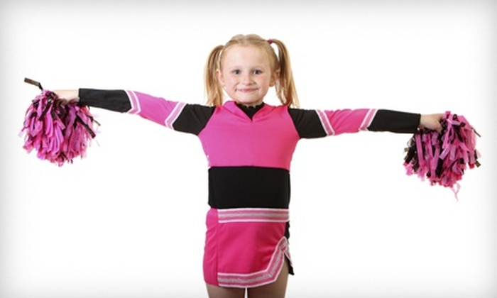 CheerDanz - Multiple Locations: $89 for 12 Weeks of Cheer Dance Classes at CheerDanz ($180 Value)