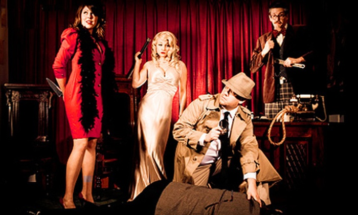 The Murder Mystery Company - Pietro's Italian Restaurant: Dinner Show for One or Two from The Murder Mystery Company (Up to 51% Off)