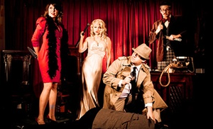 The Murder Mystery Company: Dinner Show for One or Two from The Murder Mystery Company (Up to 51% Off)