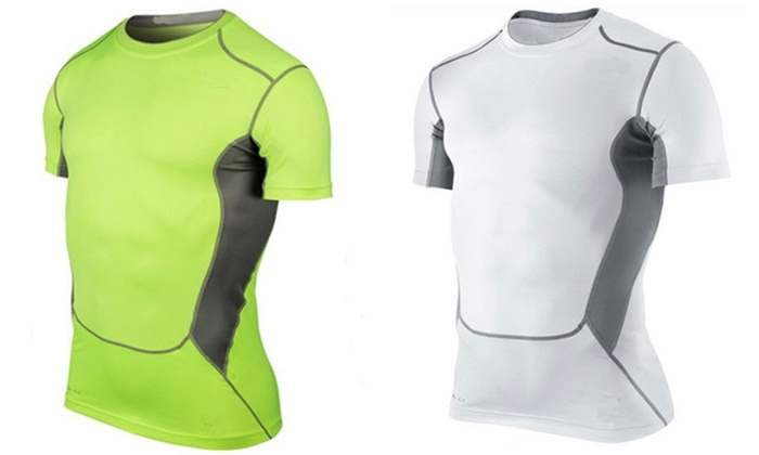 Trend Matters Short Sleeve Compression T-Shirt