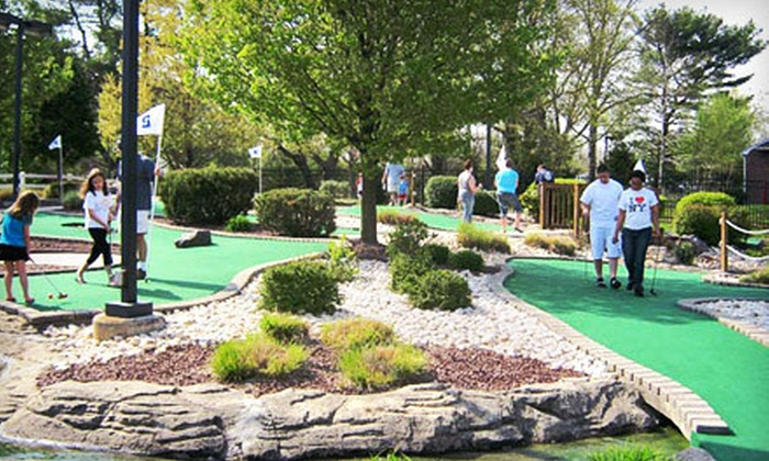 Markie's Mini-Golf - East Pikeland: Four or Eight Games of Mini Golf with Ice Cream at Markie's Mini-Golf in Phoenixville (Up to 54% Off)