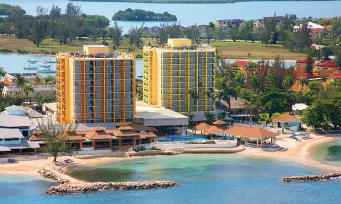 Sunset Beach Resort & Spa - Montego Bay: Four- or Five-Night All-Inclusive Stay at Sunset Beach Resort & Spa in Montego Bay, Jamaica