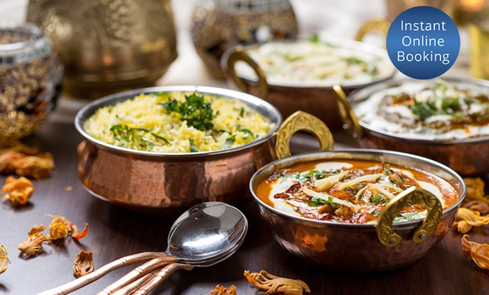Indian Banquet with Drinks for Two ($35) or Four People ($69) at Royal India Restaurant, Strathfield (Up to $160 Value)