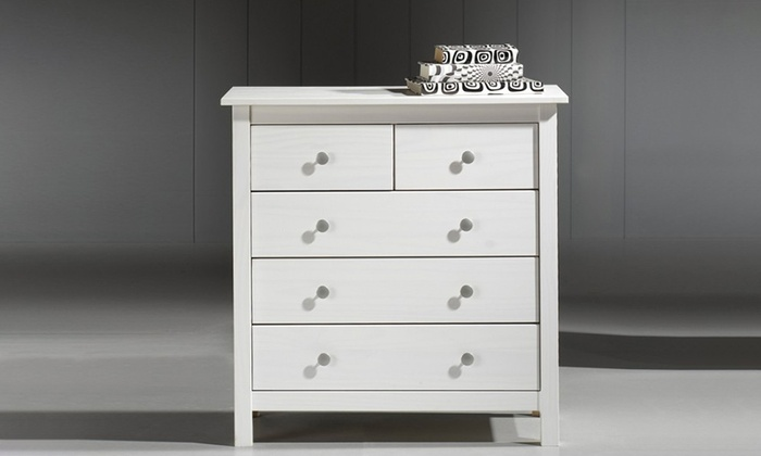 Table de chevet chiffonnier ou commode groupon - Commode profondeur 30 cm ...