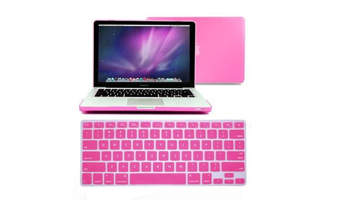 Hard Cover and Keyboard Skins for MacBooks for AED 65 (67% Off)