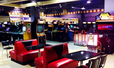 Retro-Arcade Date Night for Two or Unlimited Arcade Play for Four at The Neutral Zone (Up to 59% Off)