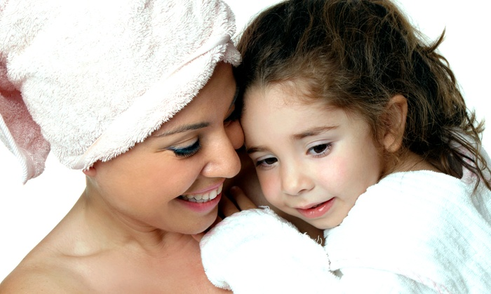 Spoiled Rotten Kids - Baltimore: Mom-and-Me Package or Braiding at Spoiled Rotten Kids Spa and Boutique (Up to 55% Off). Three Options Available.